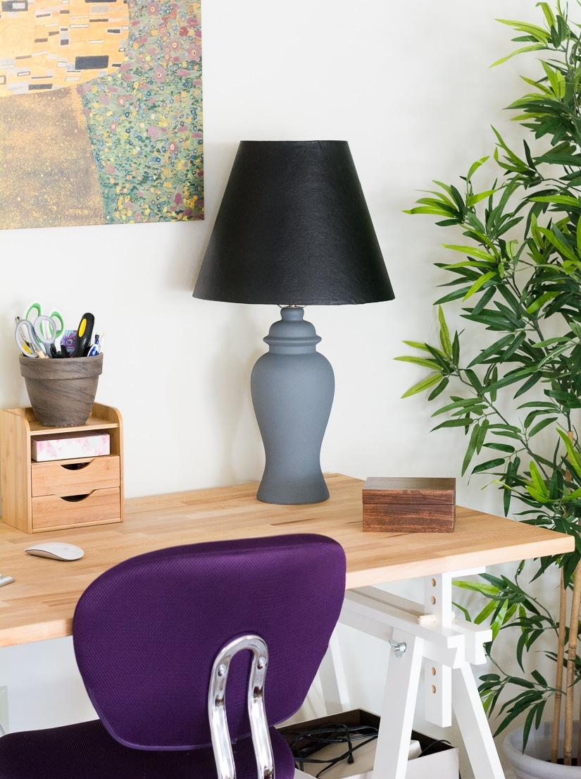 Reupholster a Lamp Shade