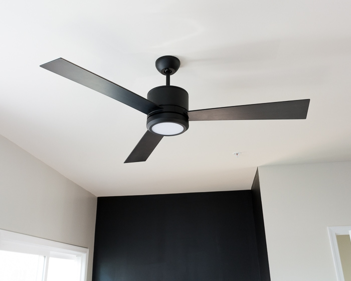 Modern multi-use space reveal--here is week one, swapping out the light fixture