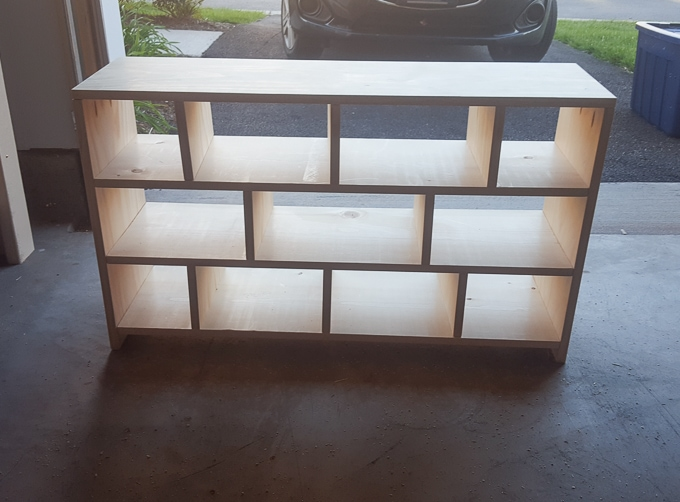 Free plans to build a shoe cubby