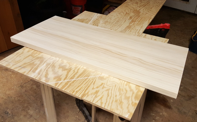 Make a Butcher Block Coffee Table