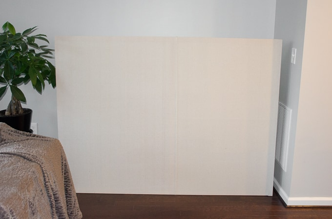 My Massive DIY Faux Canvas Art