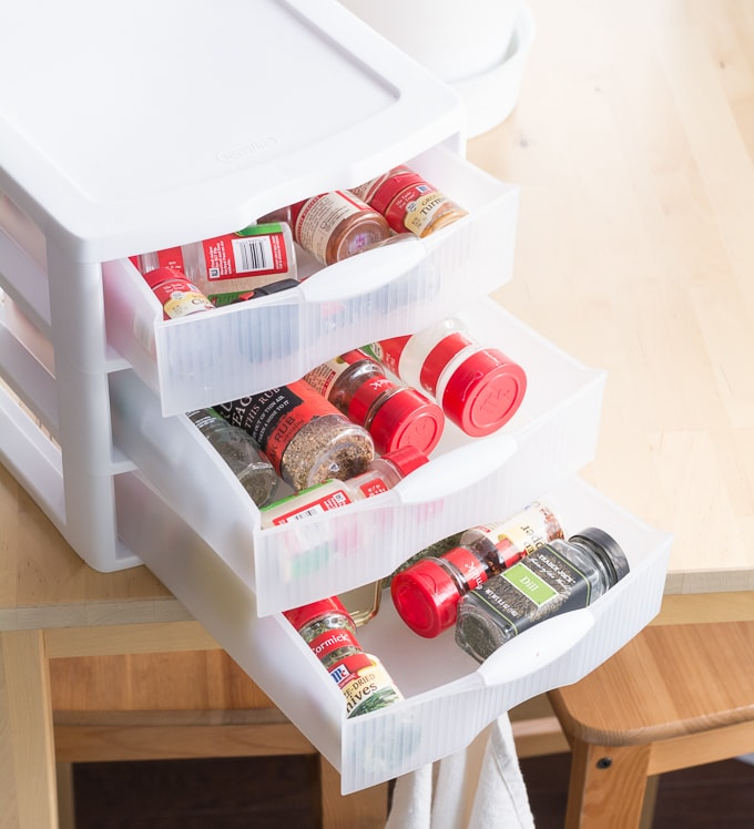 10-Minute DIYs: Non-Glamorous Ways to Organize in the Kitchen