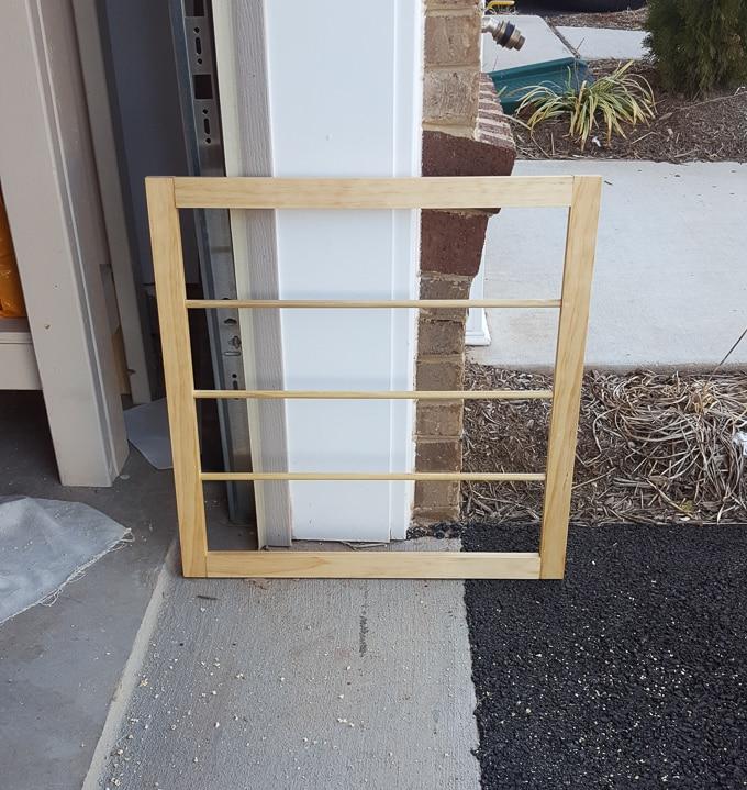 Pull-Down, Door-Mounted Drying Rack