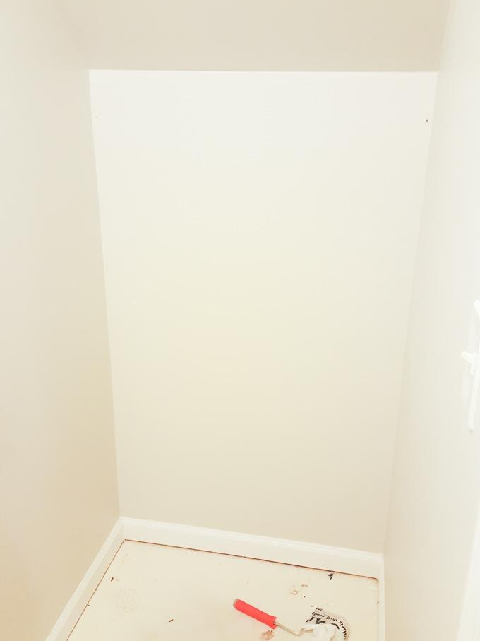 empty storage closet