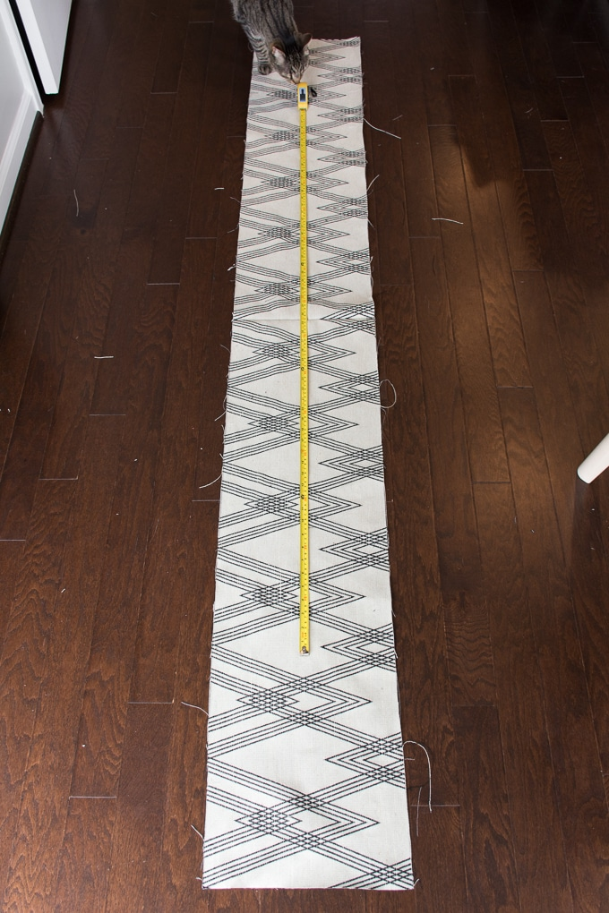 DIY Outdoor Table Runner