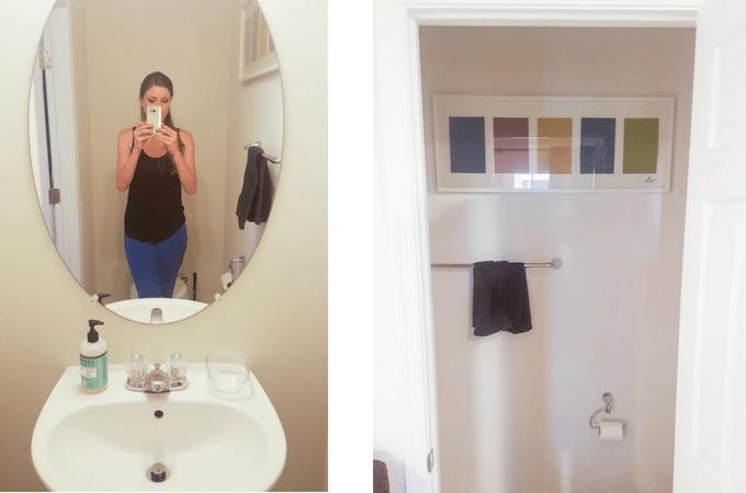 small bathroom before pics