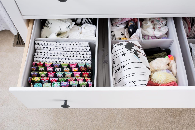 nursery drawer organization