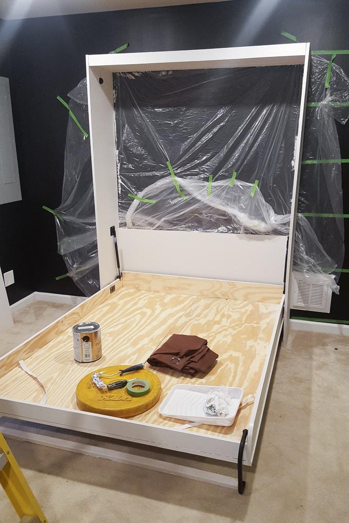 Modern DIY Murphy Bed