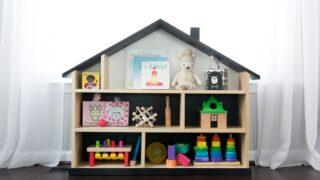 Dollhouse Bookcase DIY