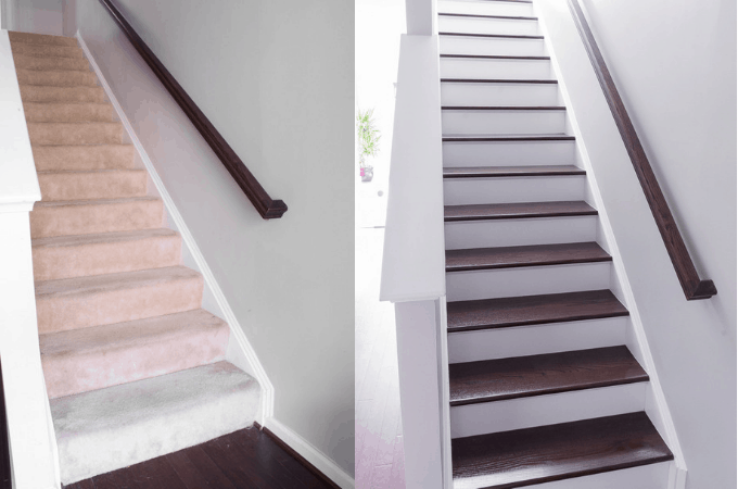 When to DIY and When to Hire a Professional? Should I do my carpeted stairs and install wood treads myself, or hire it out? I'm talking strategy today.