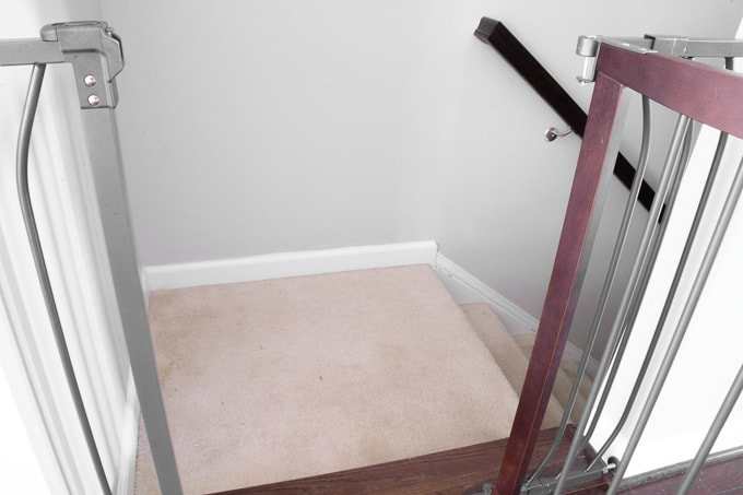 Carpeted stairs to wood treads: Should I DIY it or hire a professional? Today I'm chatting DIY vs. hiring a professional for big jobs and the value of time and money. I'm using our stair refinishing as a case study in how I decide whether to buy or DIY for big projects. #homeimprovement #refinishingstairs #stairrefinishing #diy #homedecor #diystairrefinishing