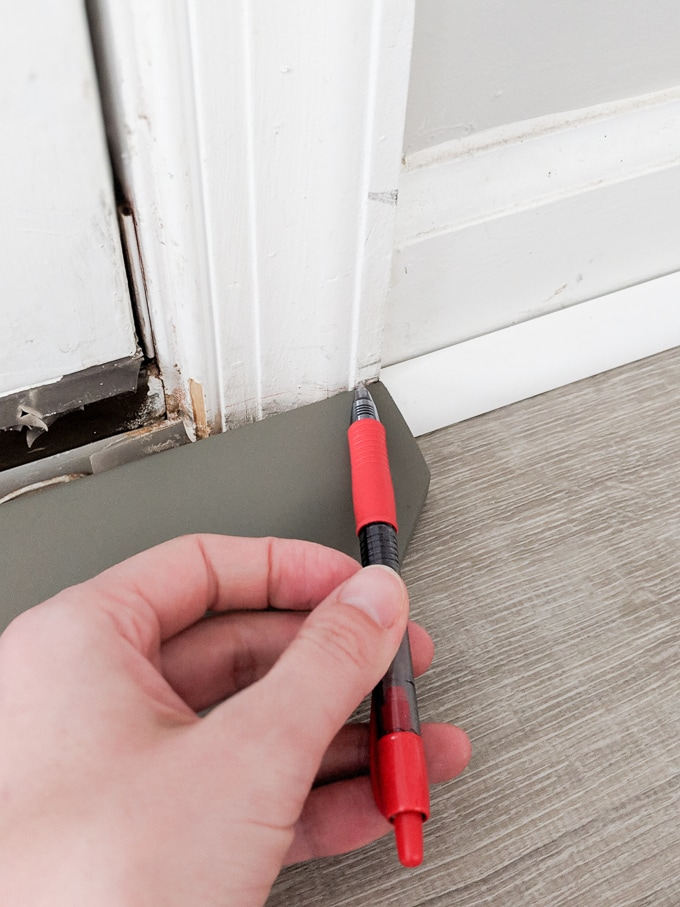 Door Threshold For Vinyl Flooring On A Concrete Subfloor