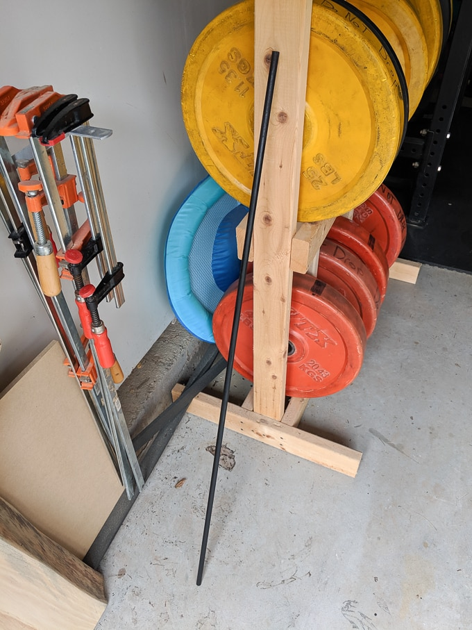 dowel for plant stakes