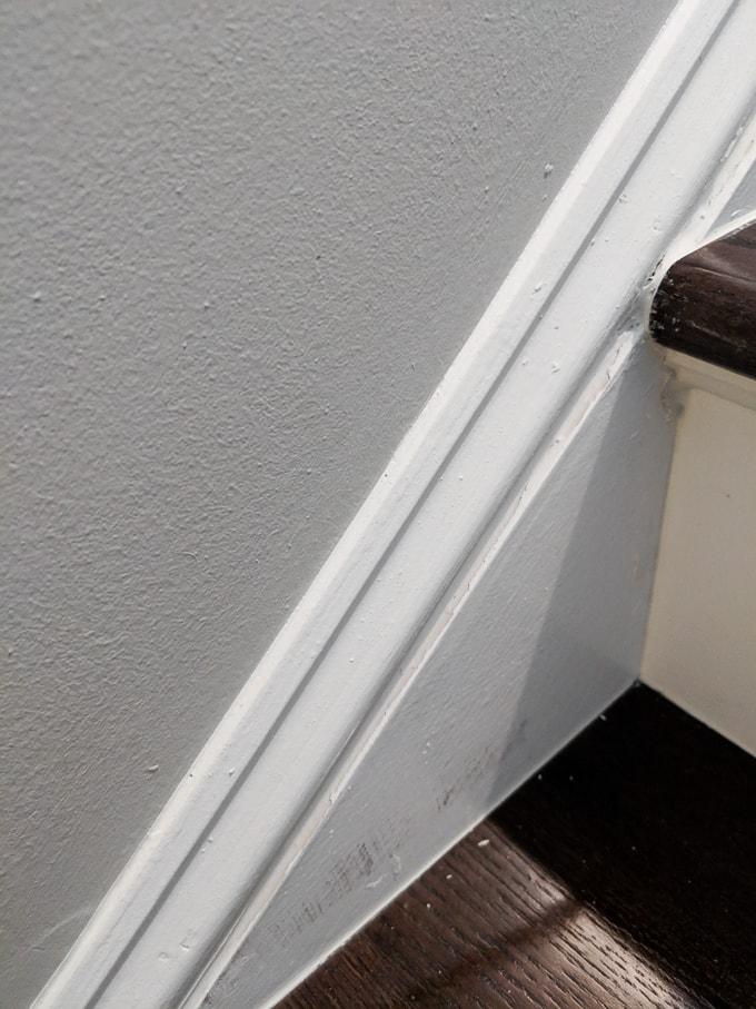 how to caulk hardwood stairs