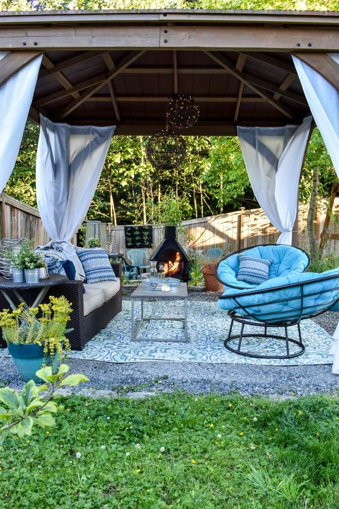 outdoor living room decor ideas