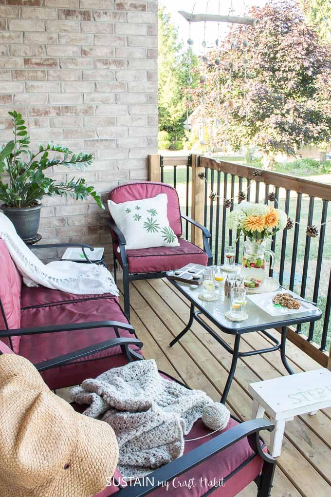 beautiful porch decor