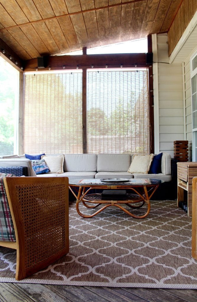 screen in deck decor ideas