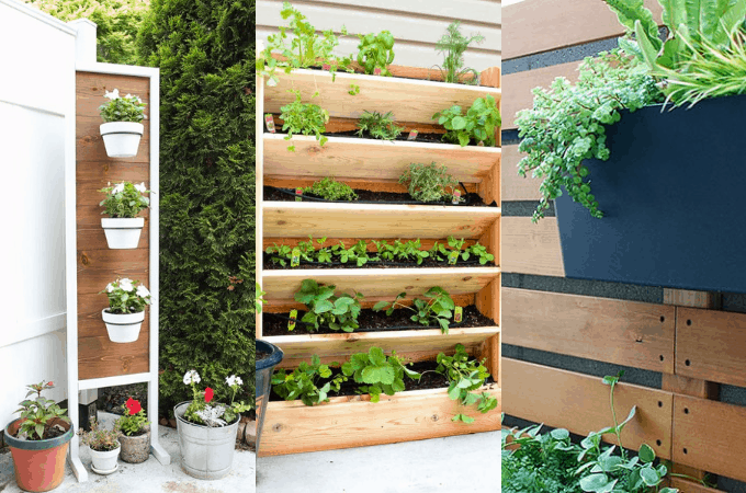 DIY Gardens For Small Spaces: Vertical And Container