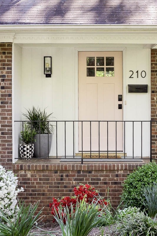 beautiful modern small front porch