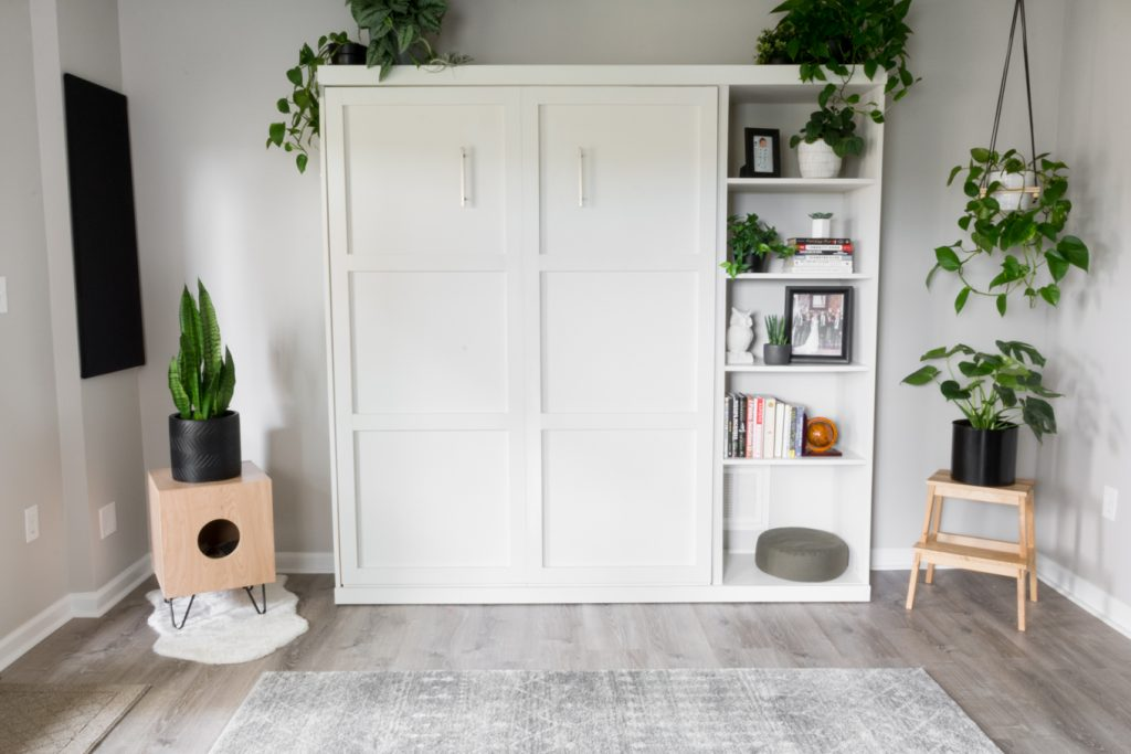 modern Ikea-inspired DIYs DIY murphy bed