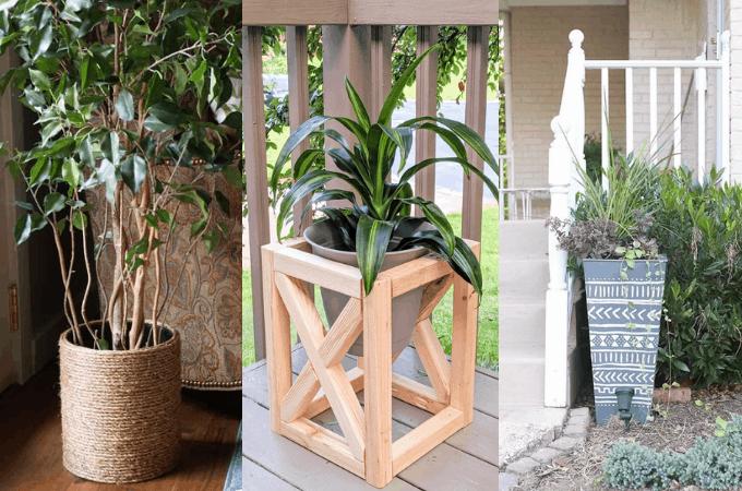 easy DIY planters