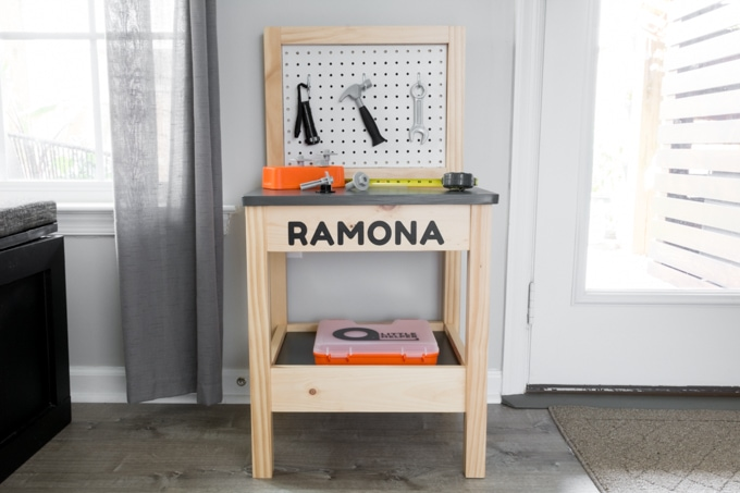 diy workbench for toddlers