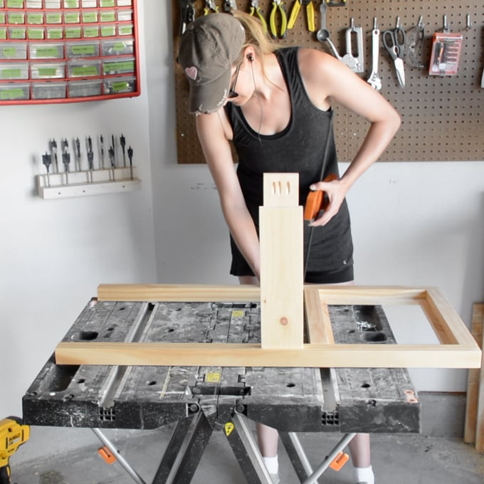diy kids workbench plans