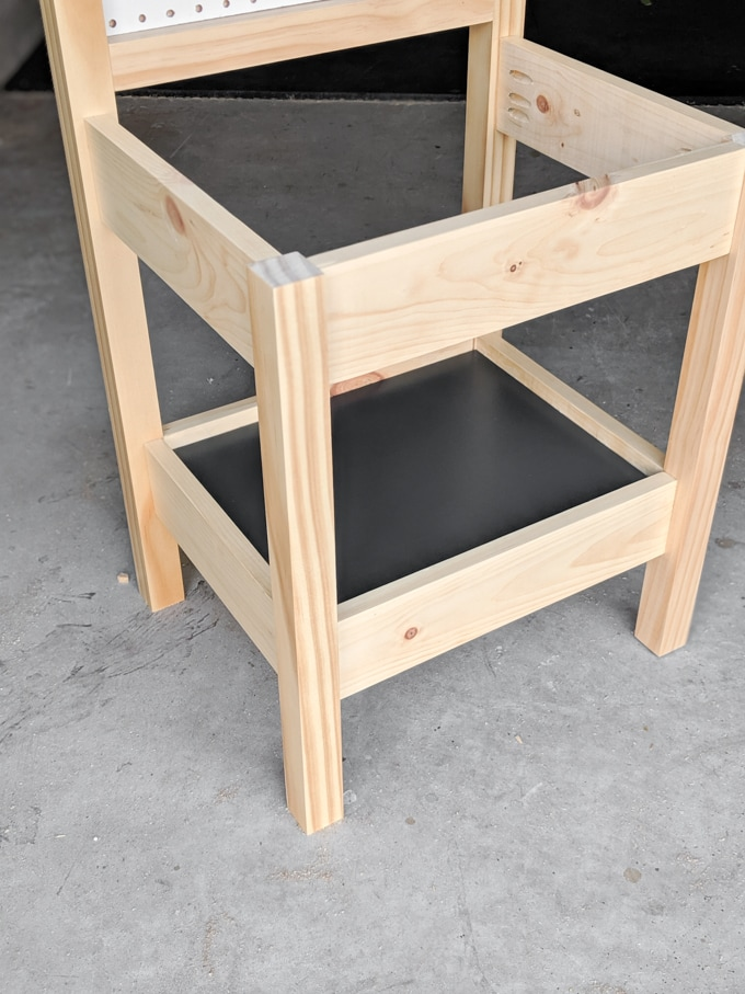 kids workbench frame