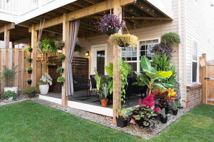 Small Townhouse Patio Ideas And My Gorgeous Tiny Backyard