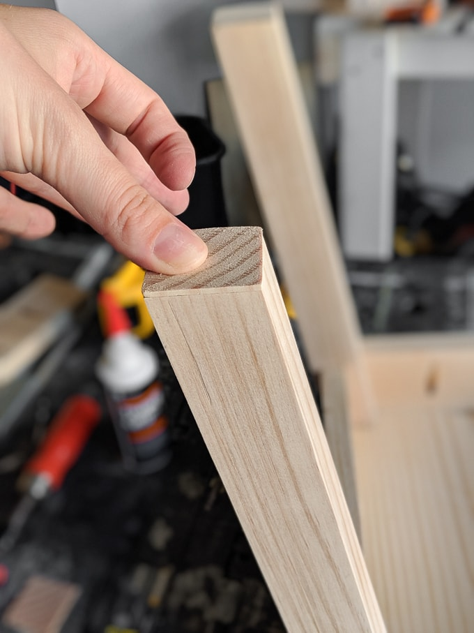 fix an uneven chair leg on a DIY project