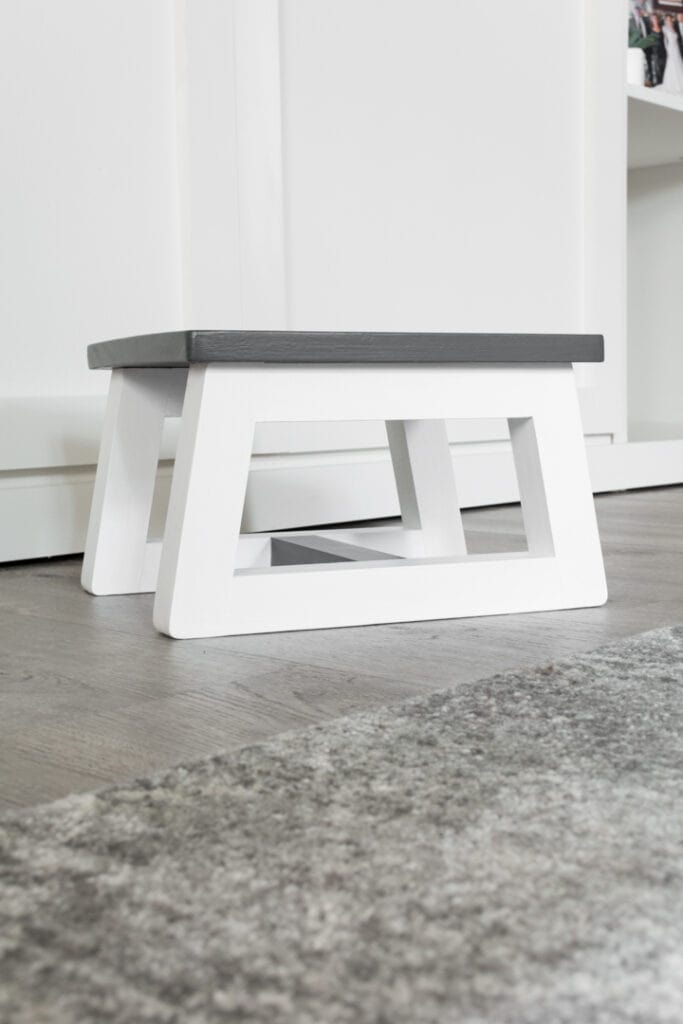 DIY Step Stool for Toddlers