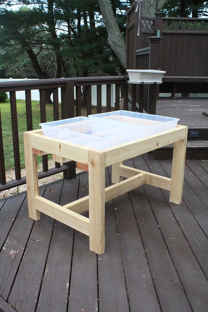 How to Build a DIY Sand and Water Table