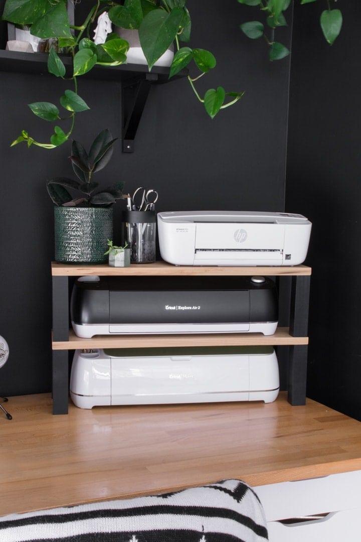 DIY Printer Stand & Storage for Cricut Machines!