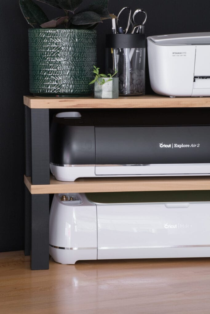 DIY Printer Stand and Storage for Cricut Machines