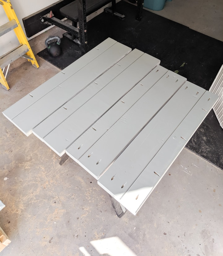 sides for the DIY rock box