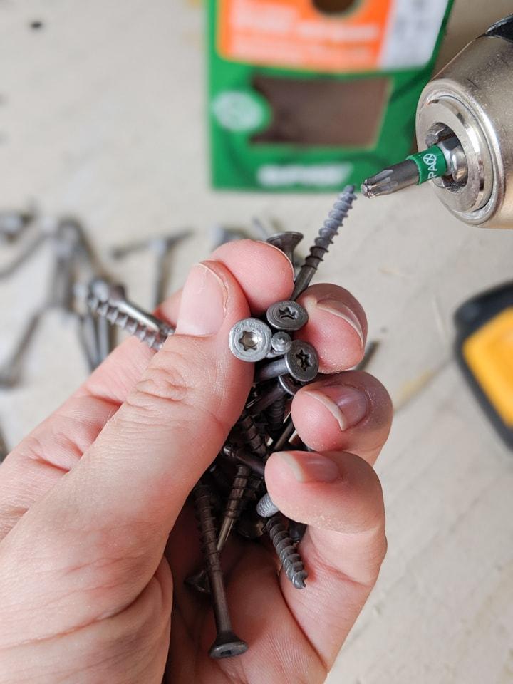 Spax wood screws