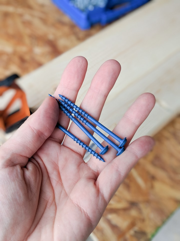 kreg bluekote screws