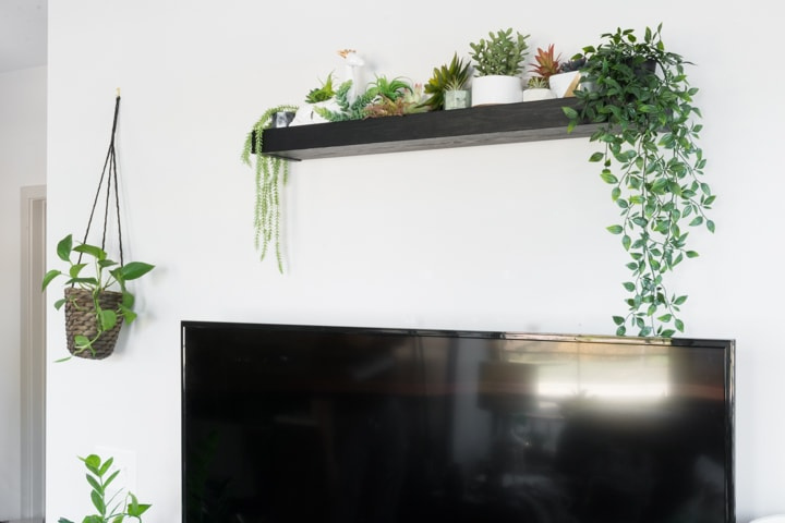 high & mighty floating shelves