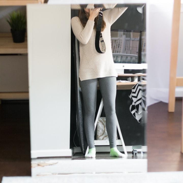 bare mirror