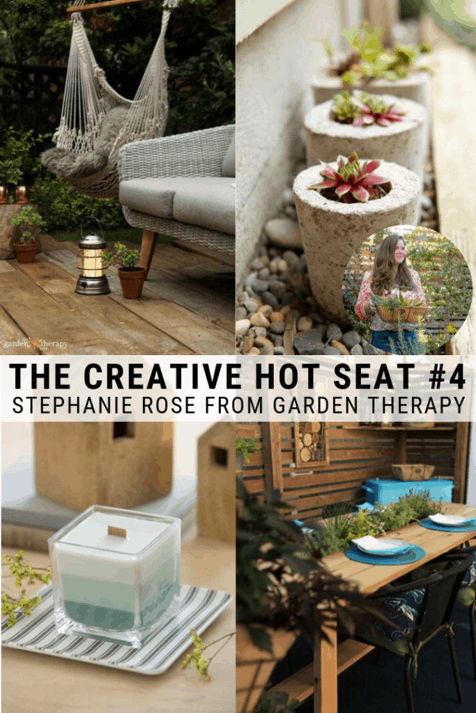 Stephanie Rose from Garden Therapy