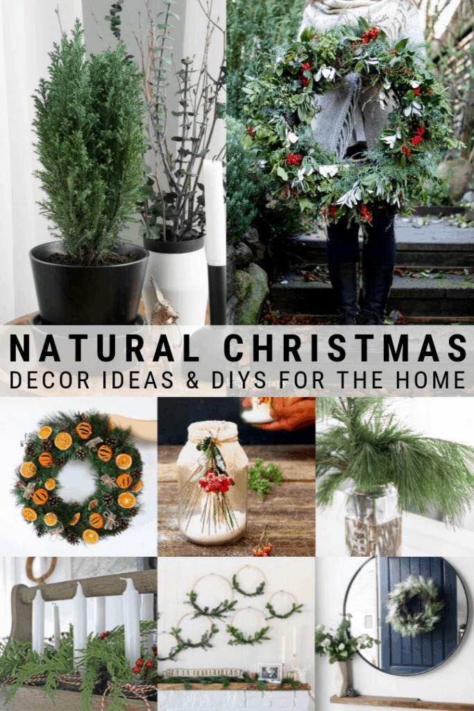 21 Natural Beautiful Christmas Home Decorations You Can Make