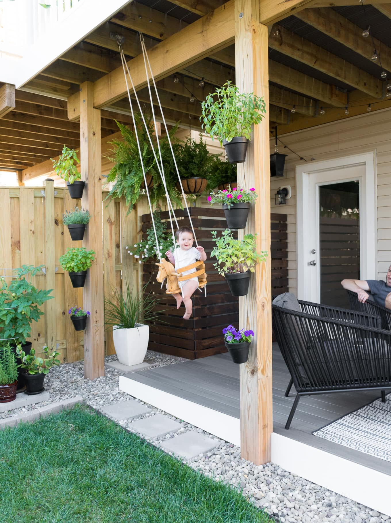 Tiny backyard ideas for babies and kids