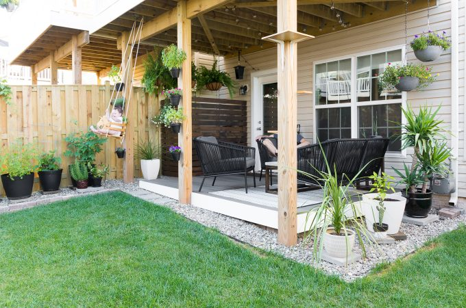 Small backyard design ideas // Modern design ideas for a small backyard