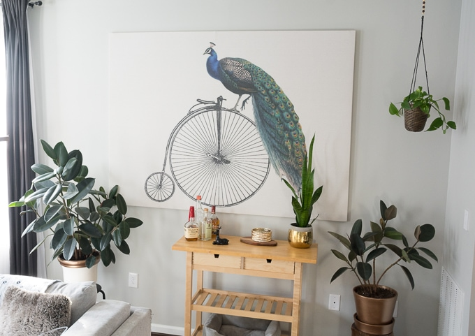 How to frame a tapestry