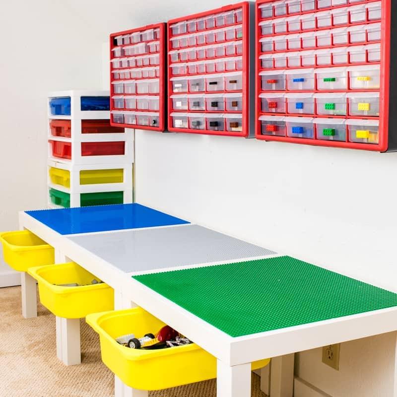DIY Lego play room