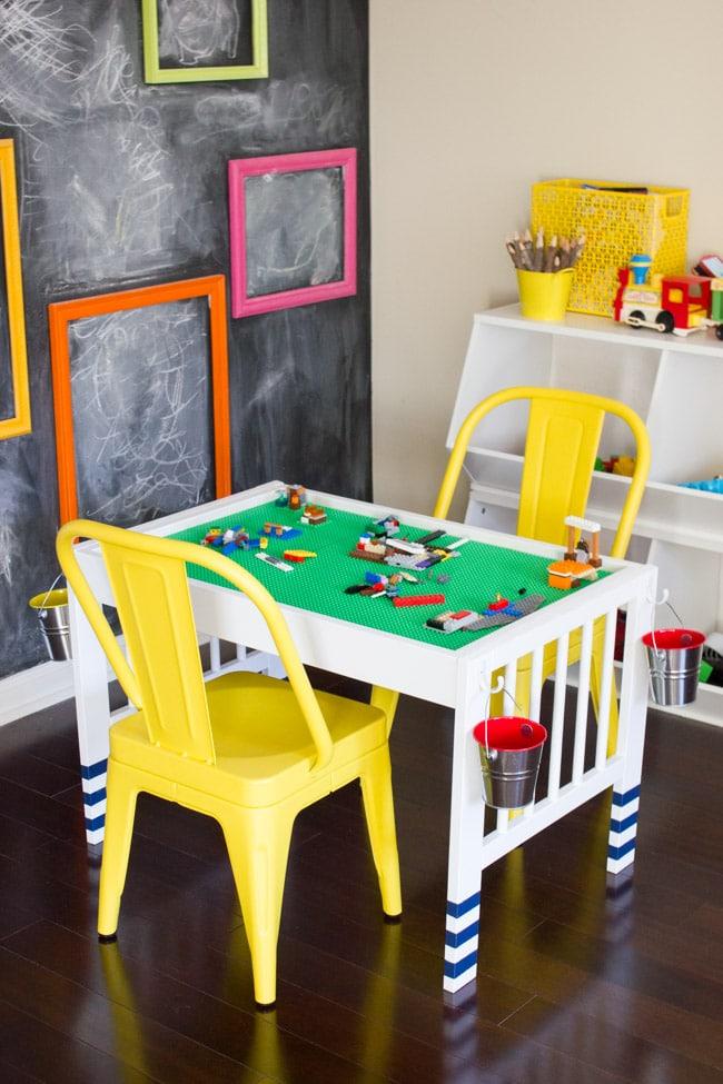 Lego table Ikea hack
