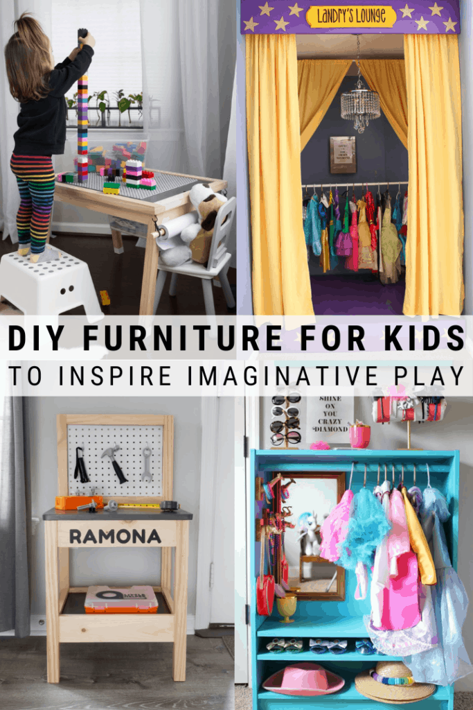 DIY Furniture Ideas For Kids Spaces