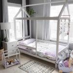 DIY Toddler House Bed Frame: Ramona's Big Girl Bed!