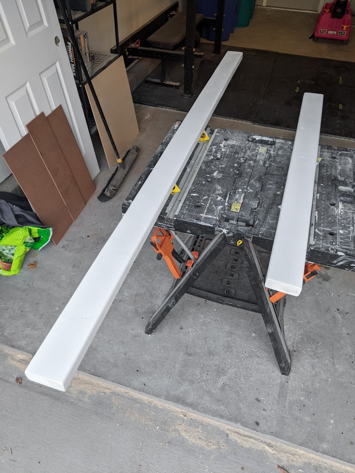 painted lumber