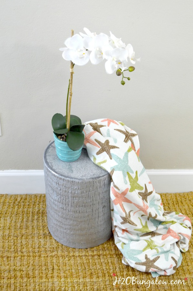ZGallerie inspired DIY end table